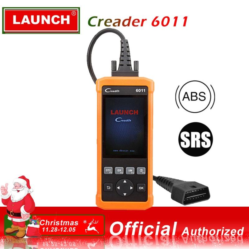 Launch CReader 6011 OBD2 EOBD Scanner ABS SRS Diagnostic Tool Car Engine Airbag Fault Code Reader Full OBD 2 Scan Diagnostics