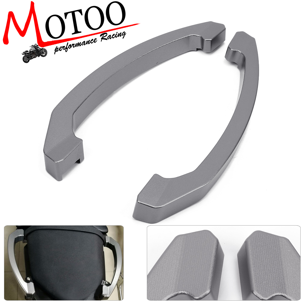 Motoo - NEW Rear Seat Pillion Passenger Grab High Quality Rear Grab Bars Rail Handle For Yamaha MT07 FZ07 MT-07 FZ-07 2014 -16 fonirra 2017 pu leather men shoes spring autumn fashion men casual shoes solid lace up men s low flats shoes male footwear 173