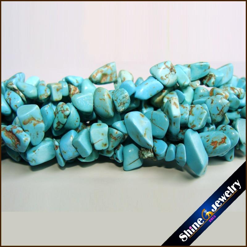 36 Strand Free Shipping 5-8mm Material Stone Freeform Gravel DIY Gems Loose Beads Strand Jewellery Making