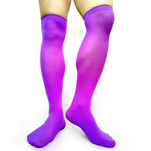 Sheer Softy Mens Knee High Socks Sexy Stocking Gay Male Fetish Collection Formal Dress Suits Hose Socks Comfortable Fashion Sock ulta thin sheer softy mens socks tight high transparent high stretch sexy gay stocking fetish collection socks black hose