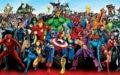 Комиксы Bullseye Marvel Мстители Железный человек Халк супер герой Капитан Америка Фон Компьютерная печать фон для фото на вечеринке