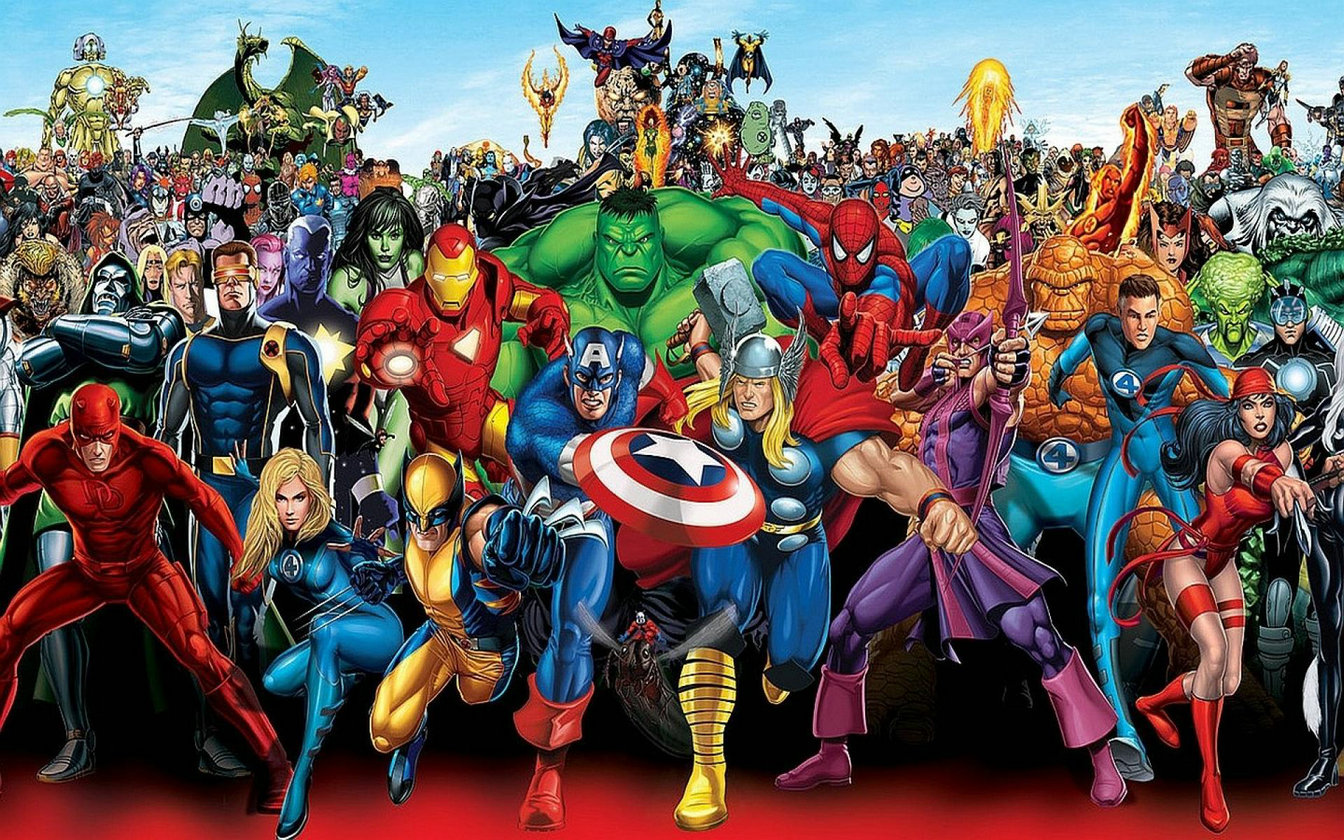 Sticker 23-Marvel Avengers-Road to Guérisseur-PANINI