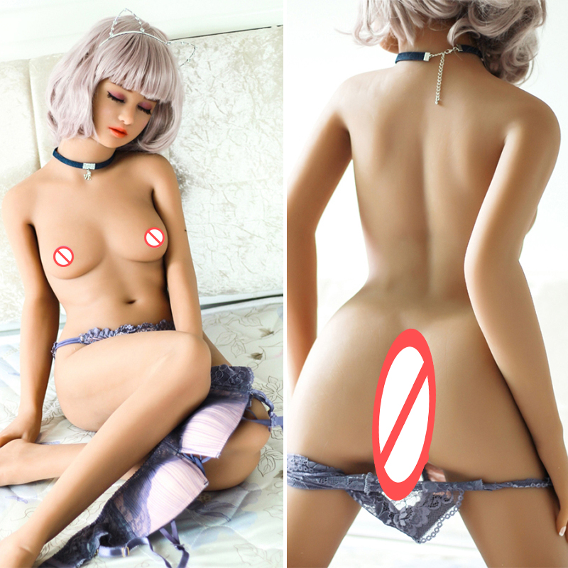 Real Full Silicone Small Breast <font><b>Sex</b></font> <font><b>Doll</b></font> <font><b>140cm</b></font> Japanese Sexy Toys for Men Adult Love <font><b>Dolls</b></font> Realistic Oral Vagina Anal image