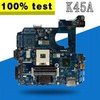 K45A motherboard LA 8221P for ASUS K45A K45VD A45V K45VM K45VS A85V Laptop motherboard K45A mainboard K45A motherboard test OK