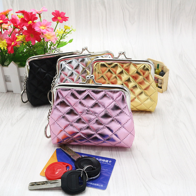 1 Piece Coin Purses Square Hasp PU Coin Purse Card Holder Coin Purse China wallet ladies #YLEY 2016 Hot Sales