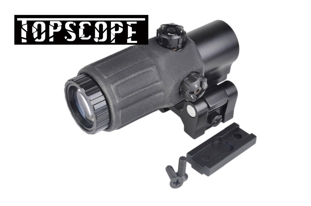 Aim O Tactical Hunting Rifle Holographic Red Dot Optics Sight 3x Magnifier for Airsoft Gun With STS Mount книги эксмо изучаю мир вокруг для детей 6 7 лет page 8