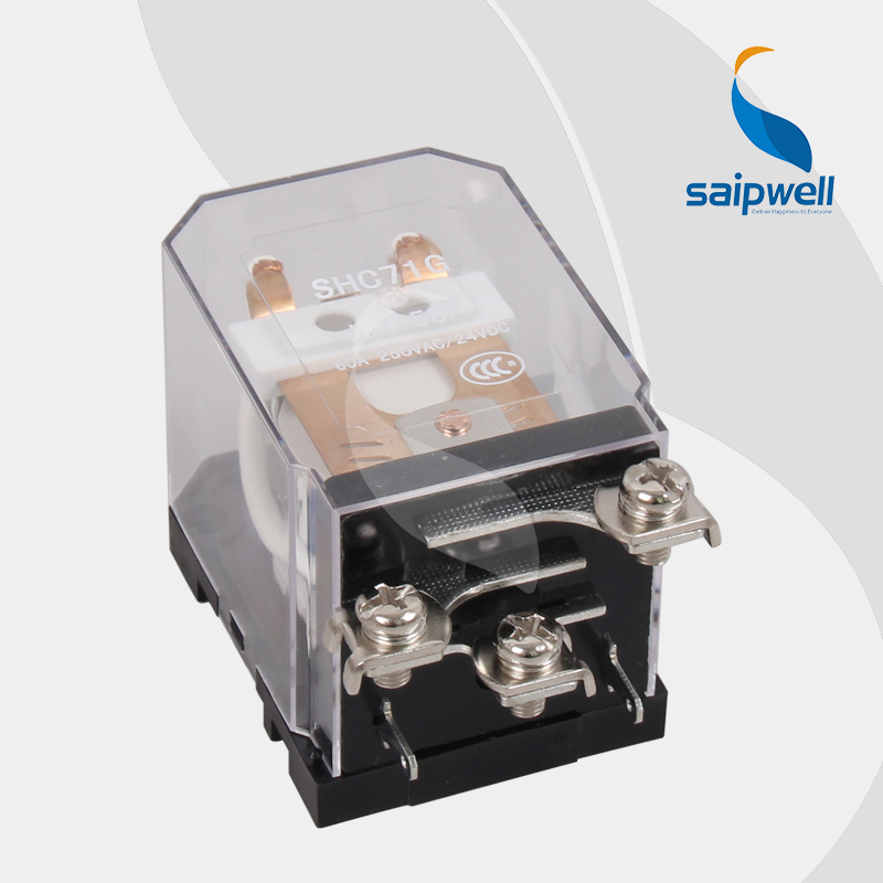 цена на High Quality!!Saip Firm Structure  Electromagnetic  Relay CQC,CE,UL Approved (SHC71G)