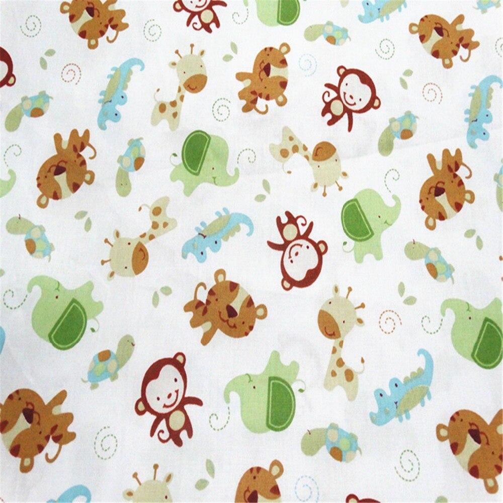 Monkey Dots բամբակյա գործվածքներ Patchwork - Արվեստ, արհեստ և կարի - Լուսանկար 2