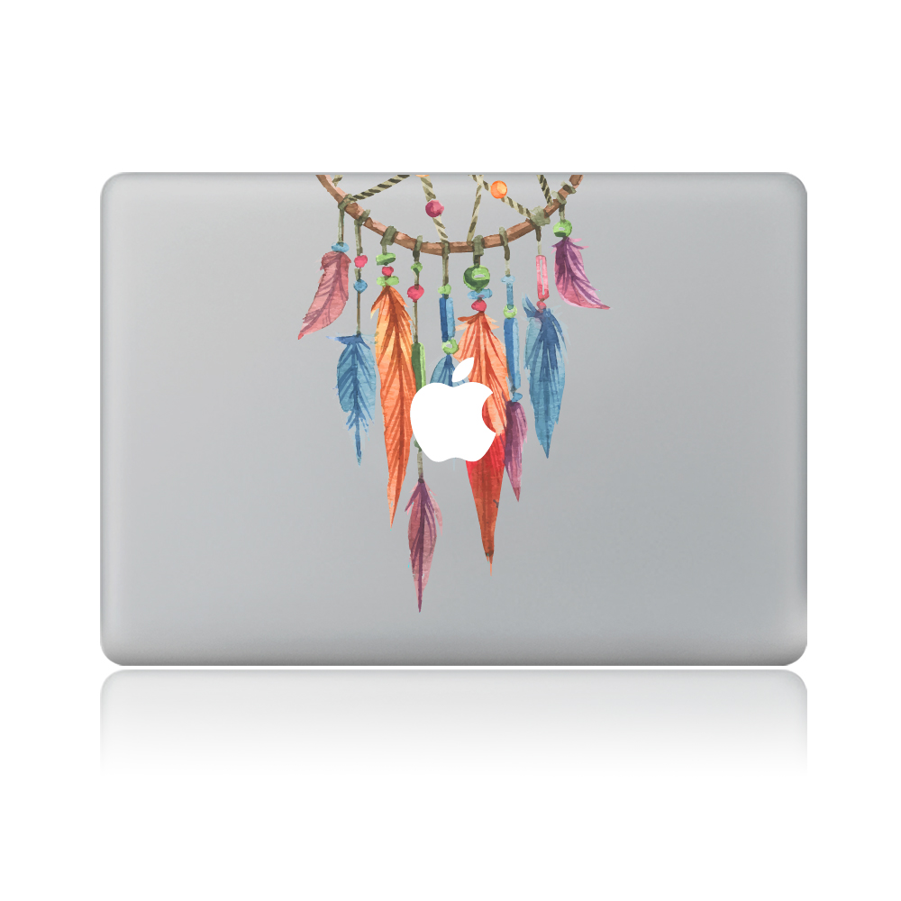 Dream Catcher Indian Feathers Vinyl Decal Laptop Sticker