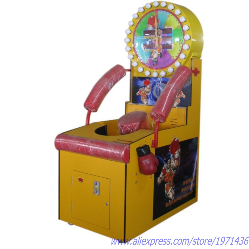 Amusement Redemption Tickets Coin Operated Arcade Games Boxing Machine
