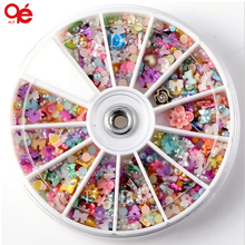 Big 3D Nail Art Decoration Random Designs Tools Sticker Nail Accessories