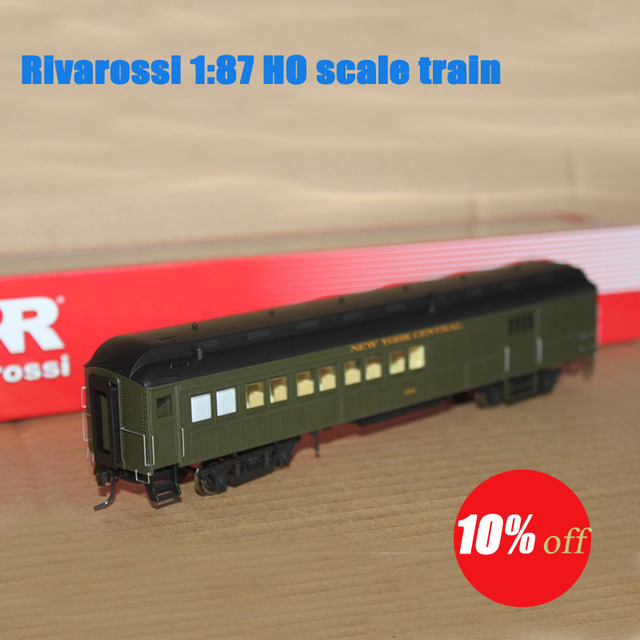 Rivarossi 1:87 HO scale New York Central Combine 60ft #342 HR4203 Toys Train Models Diecast