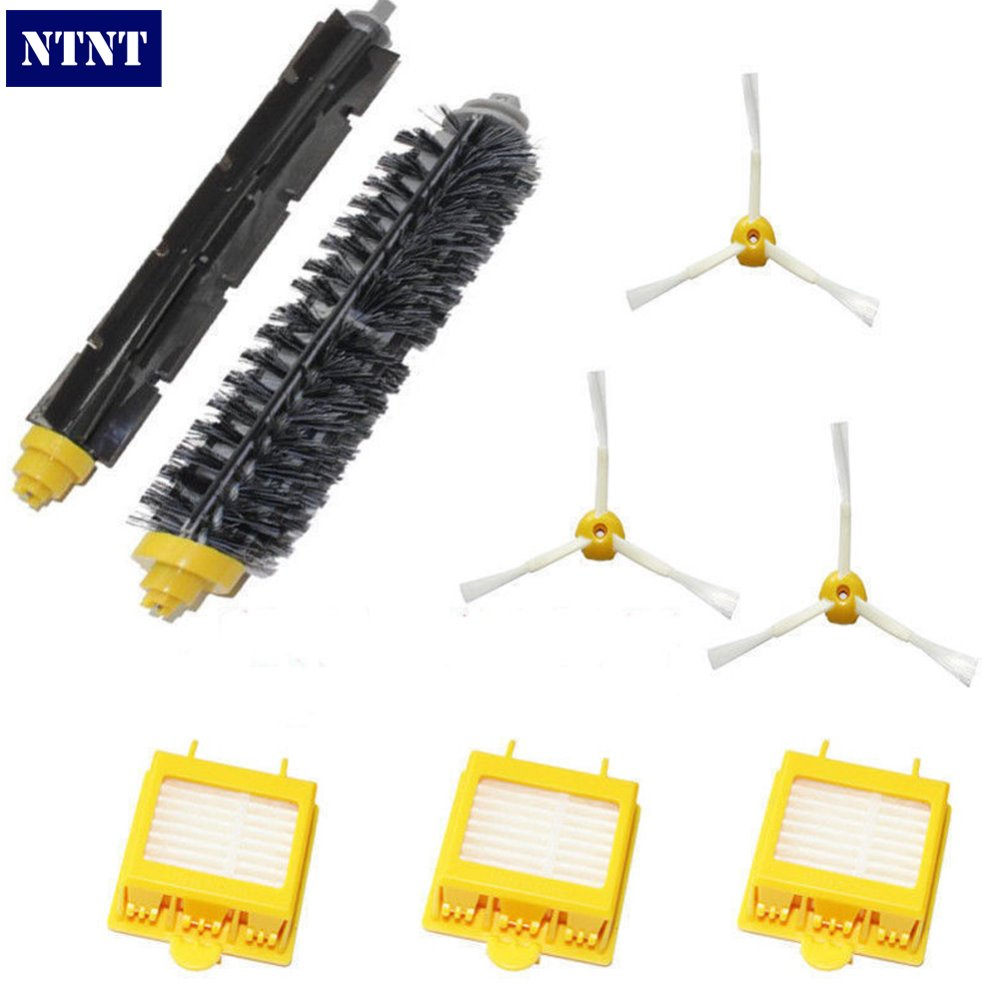 NTNT Free Post New Brush 3 armed Side Pack For iRobot Roomba Vacuum 700 Series 760 770 780 790