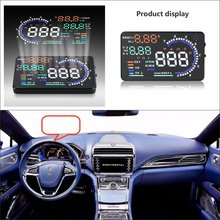 цена на For Lincoln Continental / Navigator 2015 2016 - Saft Driving Screen Car HUD Head Up Display Projector Refkecting Windshield