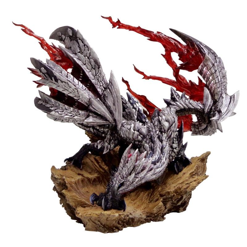 цена 2018 New Monster Hunter World Dragon Model Collections Monster Figure Action Japan Monster Hunter Game Christmas Gift Decoration онлайн в 2017 году