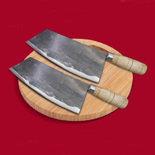 New Handmade Forged Kitchen Knife Mulberry Slicing Professional Chinese Style Chef Cutting Meat Vegetable Cleaver