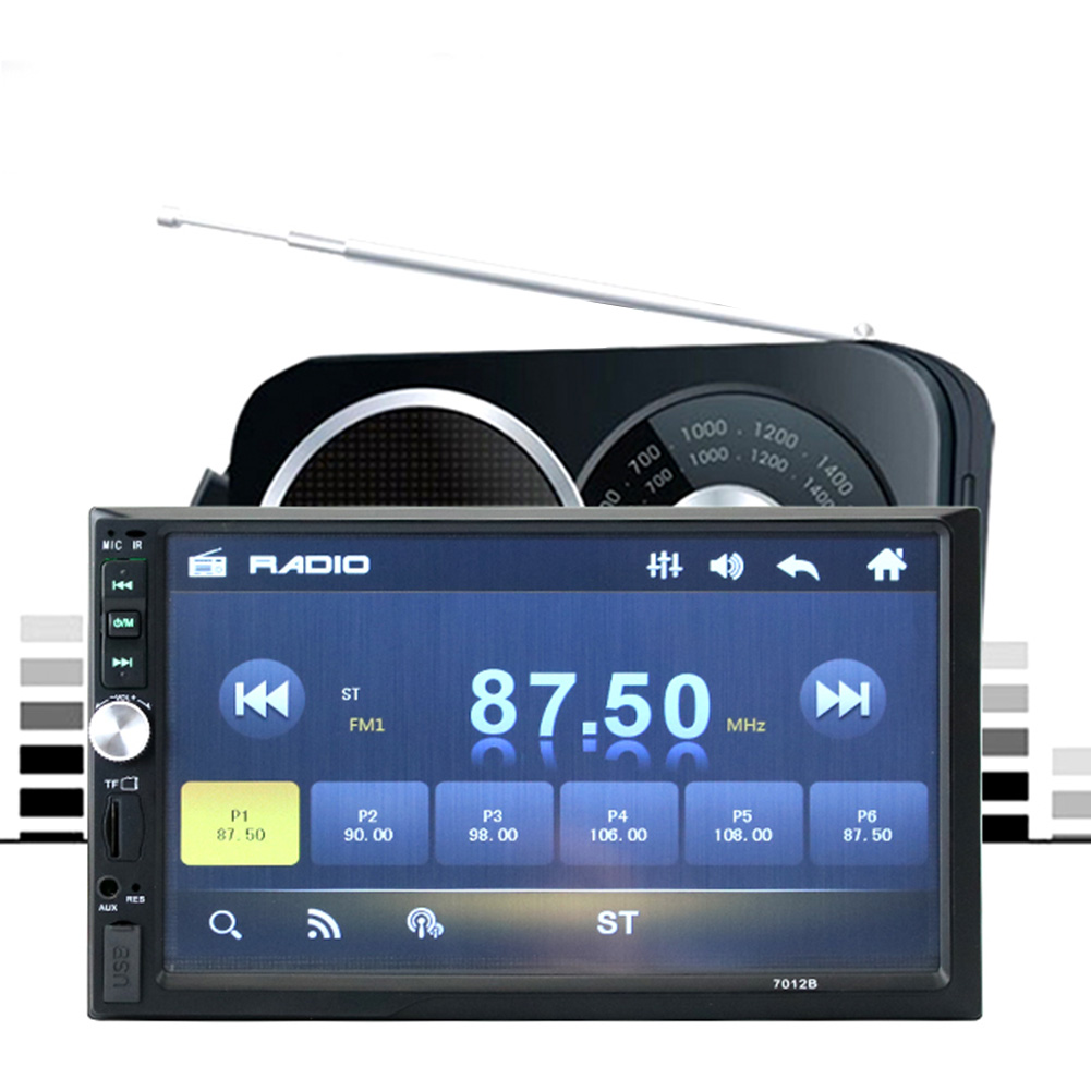 7 Bluetooth Touch Screen Car MP4 MP5 font b Player b font 2 Din In Dash