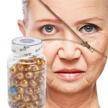 90 шт./бутылка Витамин Е экстракт змеиного яда крем для лица против морщин отбеливающая против старения увлажняющая, против морщин