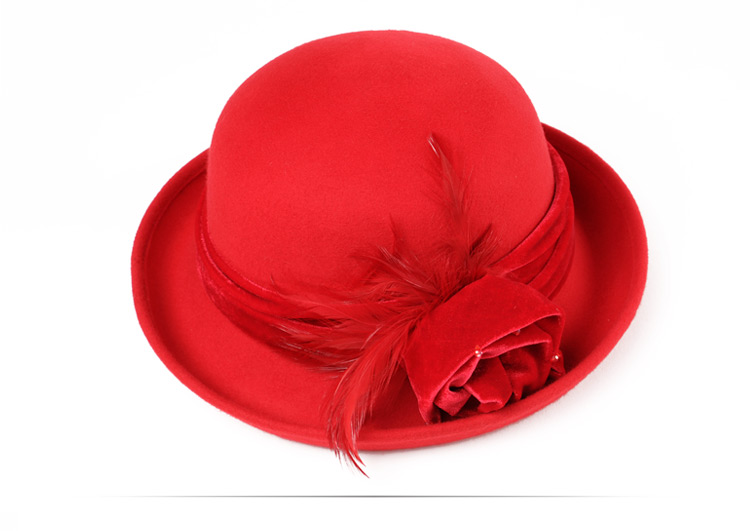 elegant women church hats