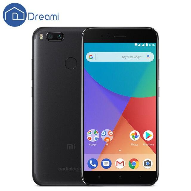 Global Version Dreami Xiaomi Mi A1 MiA1 4GB RAM 64GB ROM Snapdragon 625 Octa Core 5.5 Inch FHD 12MP Dual Camera Fingerprint ID