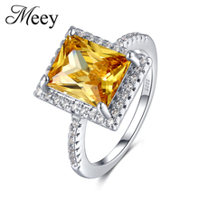 Fashion standard 925 Sterling Silver Lady jewelry ring fashion quality square gemstone anniversary gift elegant party tbj 3ct natural spessartite garnet gemstone luxury ring in 925 sterling silver for lady party as best gift anniversary with box