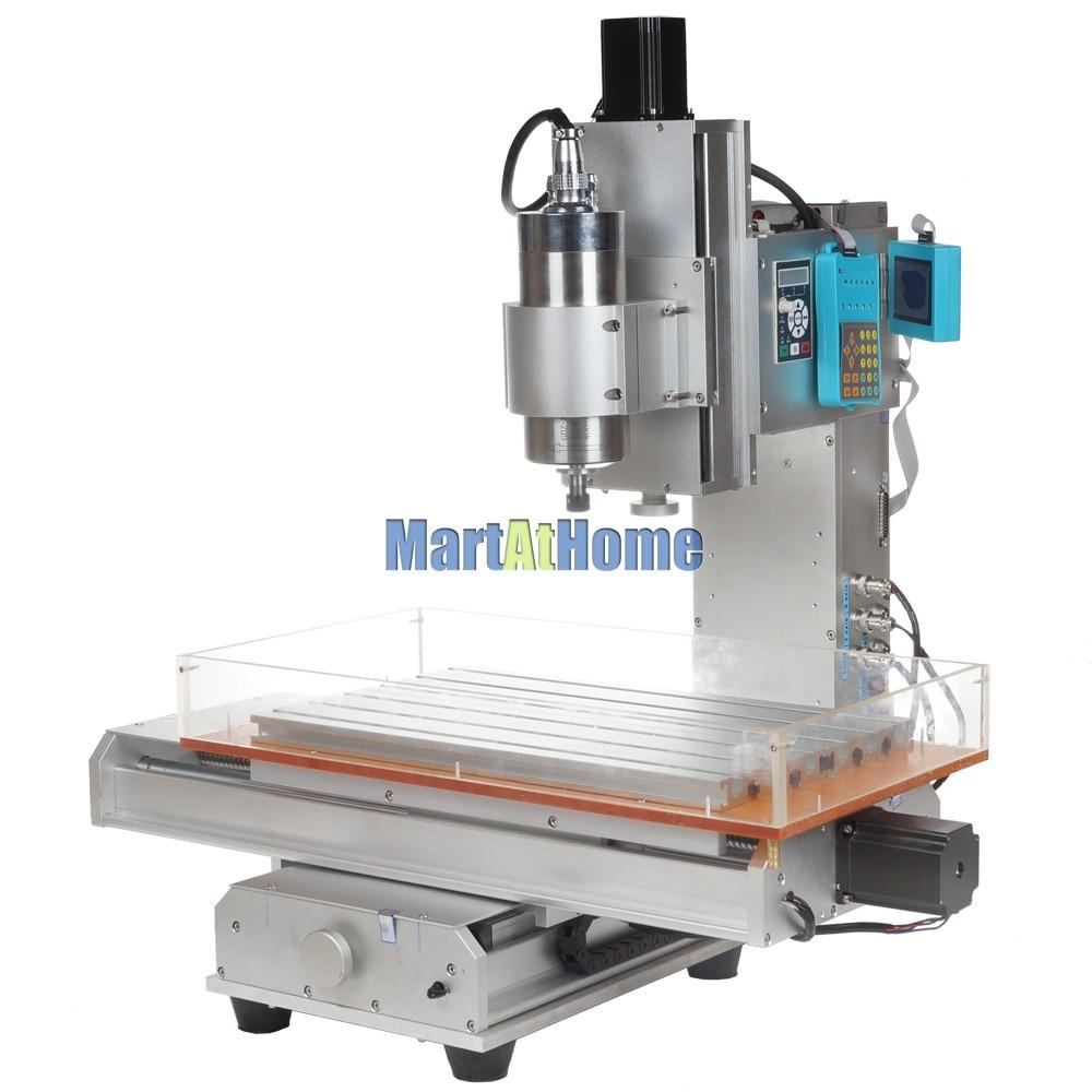 Tavolo per macchina da incisione CNC ad alta precisione 1.5KW 3 assi - Attrezzature per la lavorazione del legno - Fotografia 2