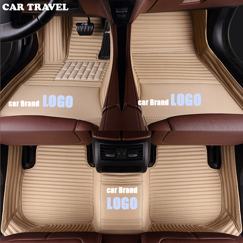 CAR TRAVEL car floor mat for BMW LOGO BMW e30 e34 e36 e39 e46 e60 e90