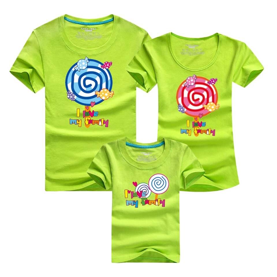Семья подходящая друг к другу Одежда для пар спортивный топ Для мужчин Одежда для мальчиков Для женщин и девочек Футболка семейная одежда О...
