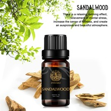 100% Natural Sandalwood Pure Essential Oil 10ml Face Moisturizer Dry Skin Anti Aging Anti Wrinkle Skin Care Meditation tighten chin face care anti aging anti wrinkle essential oil whitening firming massage oil pure natural extract beauty skin care