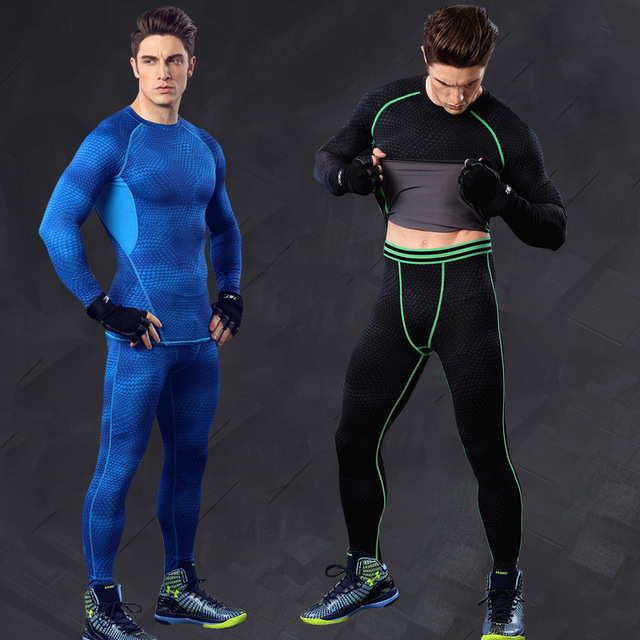 6431d88ec7 2019Men Clothes Men's Compression Pants Base Layer Gear Tight Wear Pants  Leggings Best Gift for Male Size M/L/XL Skinny Trousers
