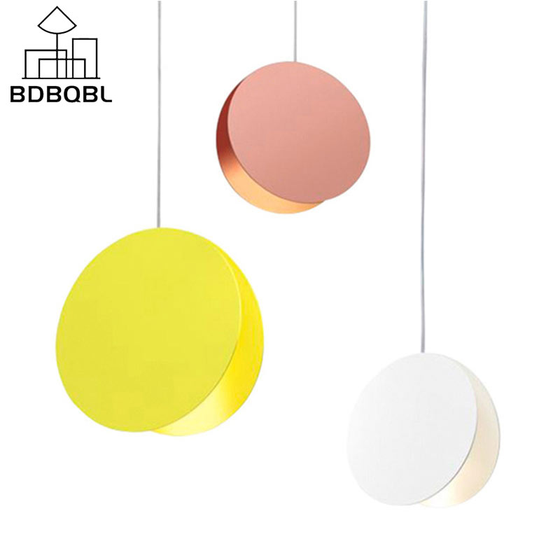 BDBQBL Macaron Pendant Lights Originality Northern Europe LED Pendant Lamp AC 90-260V Gorgeous Bedroom Restaurant HanglampBDBQBL Macaron Pendant Lights Originality Northern Europe LED Pendant Lamp AC 90-260V Gorgeous Bedroom Restaurant Hanglamp