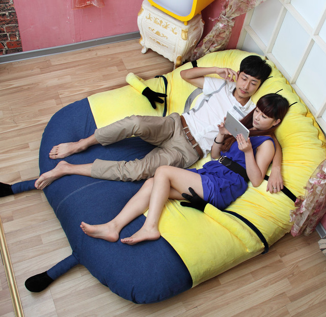 Pikachu Bed Pikachu Lazy Bed Tatami Mattress Sleeping Bag
