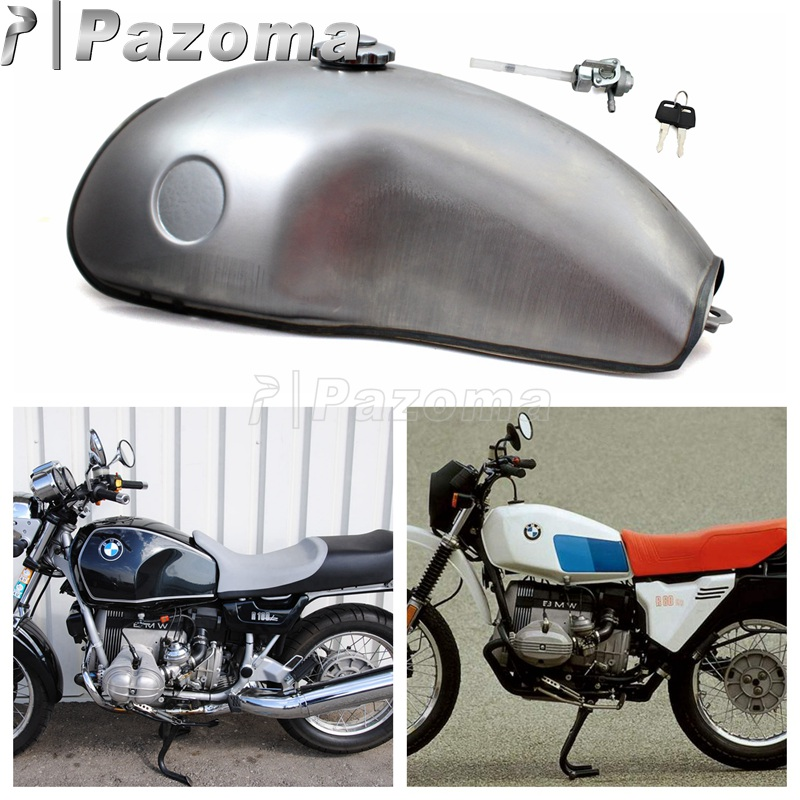 10L 2 6 Gal Motorcycle Steel Fuel Tank Universal Oil Gas Tank for Yamaha Suzuki Honda
