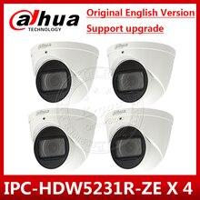 4 adet/grup Dahua IPC HDW5231R ZE 2MP WDR IR gözküresi 2.7mm ~ 13.5mm değişken odaklı motorlu dahili mikrofon Nettwork kamera IPC HDW5831R ZE