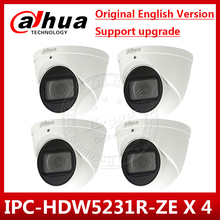 4 개/몫 dahua IPC HDW5231R ZE 2mp wdr ir 안구 2.7mm ~ 13.5mm varifocal 동력 내장 마이크 nettwork 카메라 IPC HDW5831R ZE