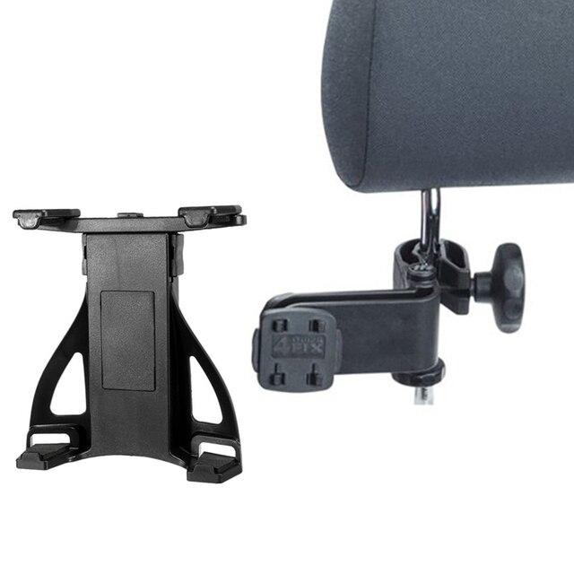 Universal de la tableta 7-10 pulgadas ajustable asiento trasero del coche reposacabezas soporte ajustable de soporte para ipad nueva tableta el sostenedor del soporte para samsung
