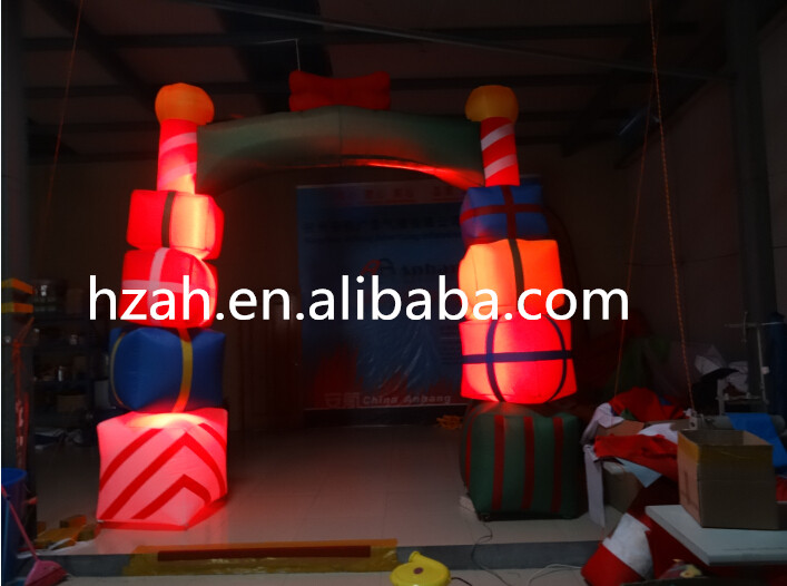 цены Christmas Gate Inflatable Arch with LED Light
