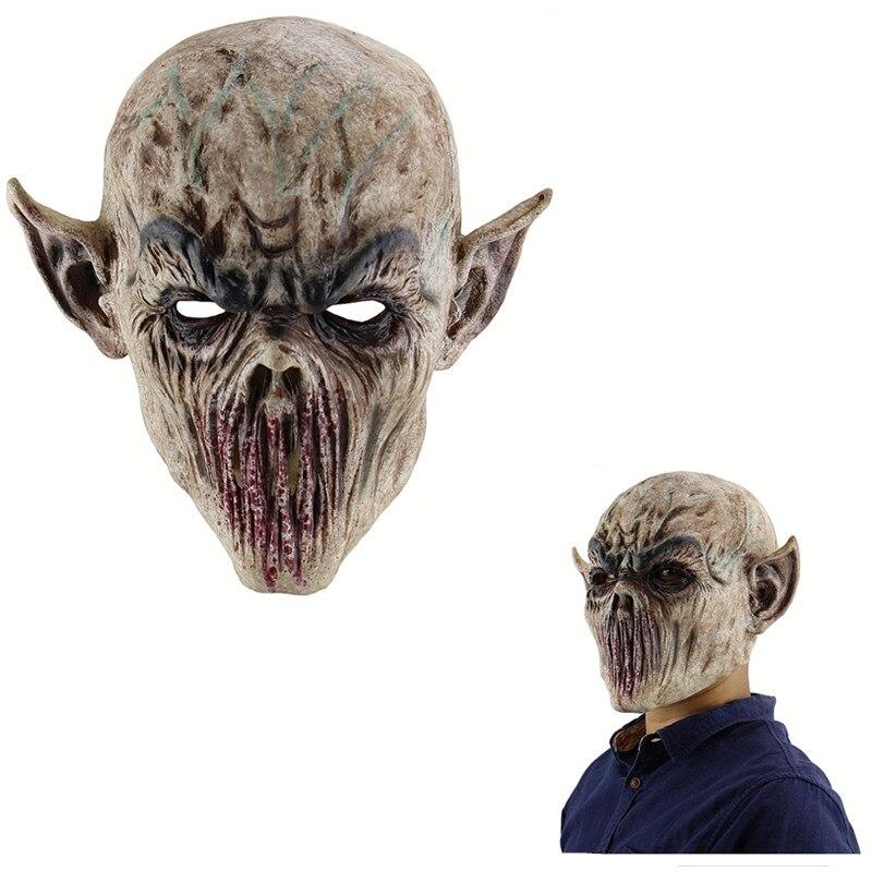 Halloween 4 Horror Latex Mask Horrable Killer Character Scary Cosplay Prop Fun