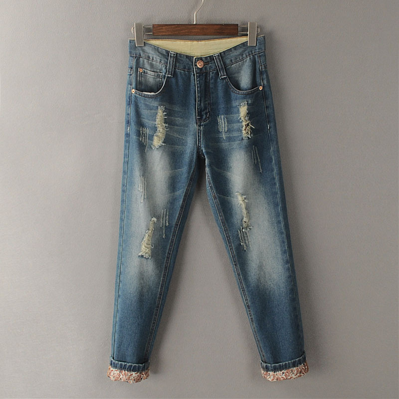 Aliexpress.com : Buy Summer Skinny Seven Jeans Plus Size Retro