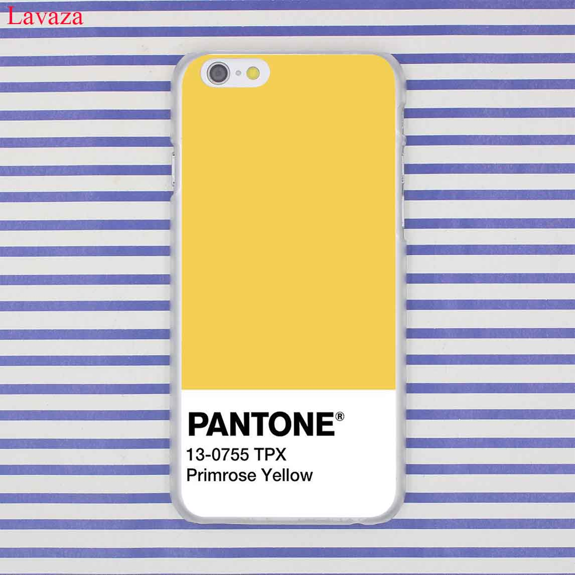 Lavaza Caliente Pantone Hard Phone Cover Case for iPhone XR X 11 Pro XS Max 8