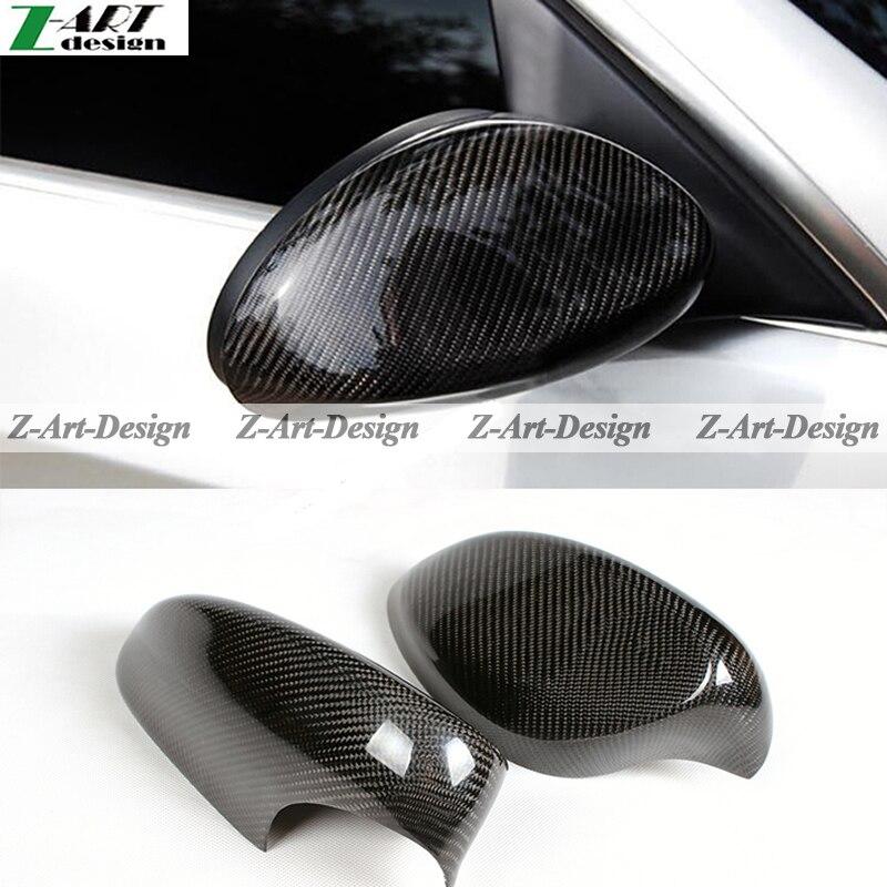 Hot sell 07-09 E92 E93 Carbon Fiber Rear Mirror Covers Side Car Mirror Caps For BMW E92 E93 Coupe 328i 330i 335i 07-09