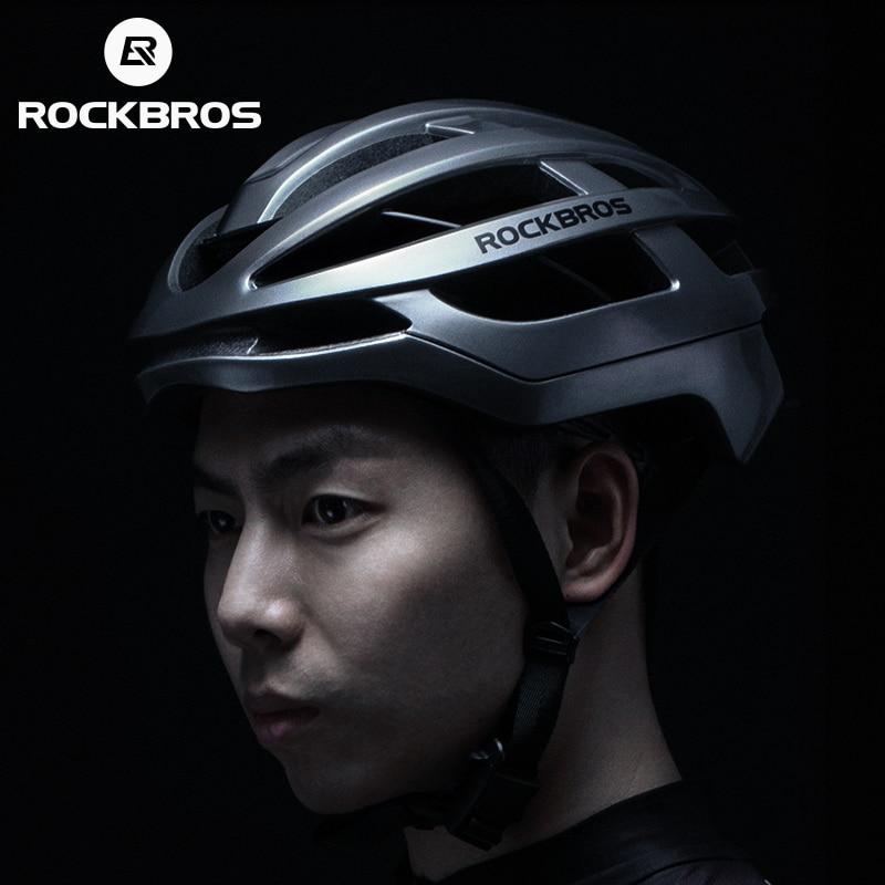 ROCKBROS 2019 Cycling Helmet Men Bicycle Ultralight Integrally molded Helmet Women MTB Road Mountain Bike Breathable