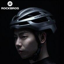 ROCKBROS 2019 الدراجات خوذة الرجال دراجة خفيفة تكاملي مصبوب خوذة النساء MTB الطريق دراجة هوائية جبلية تنفس ايرو خوذة