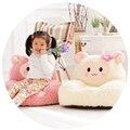 2015 novos Brinquedos de Pelúcia Do Bebê Chair & Assento Crianças Dos Desenhos Animados Sofá Crianças Dormindo Saco De Feijão Cama Cordeiro Bonito Salão De Móveis cadeira