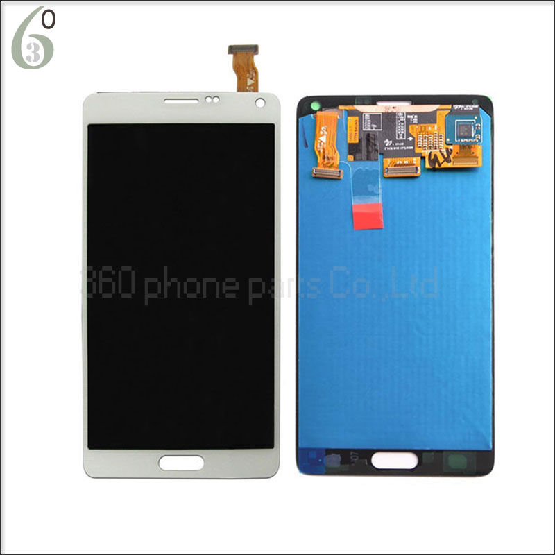 white black lcd display touch screen digitizer full assembly replacement parts For samsung galaxy note 4 n910 N910 N910A N910T 100% brand new lcd digitizer touch screen display assembly for samsung galaxy note 4 n910 n910a n910v n910p n910t black or white
