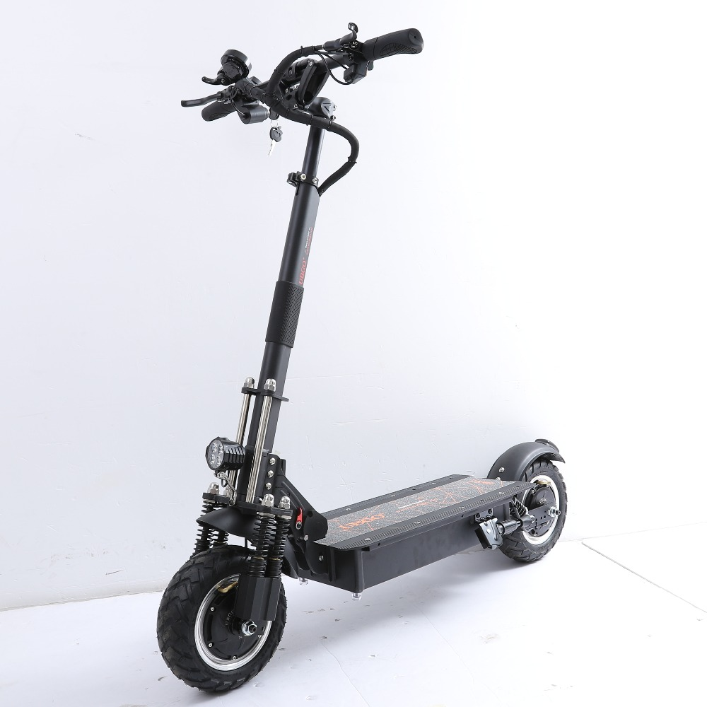 UBGO 1005 Plus 52 V Bateria LG Dupla Driver de Motor Scooter Eléctrica Potente 10 Polegada Scooter E-