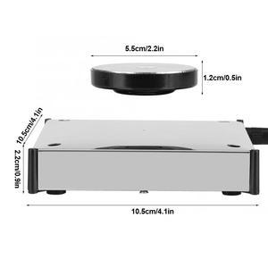 Image 3 - 360度回転する磁気ディスプレイベースフローティングショー棚プラットフォームledライトホルダーマウントパネルディスプレイベース棚ブラケット