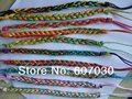 20 pcs Colourful handmade thread bracelets Surfer Woven Friendship Bracelet A2420