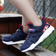 ULKNN Childrens shoes kids spring new boys primary school students casual sports big girls breathable running
