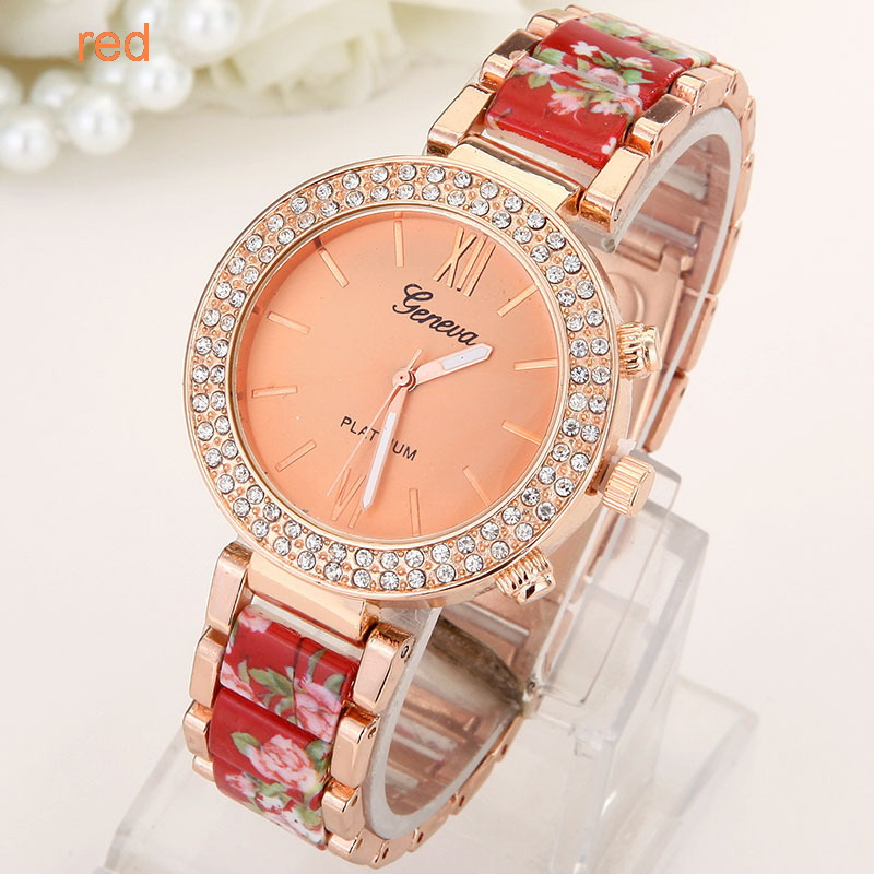 Flowers Women Watch  (7)
